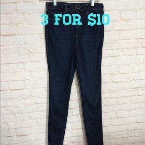 True religion x Joan smalls dark wash skinny jeans